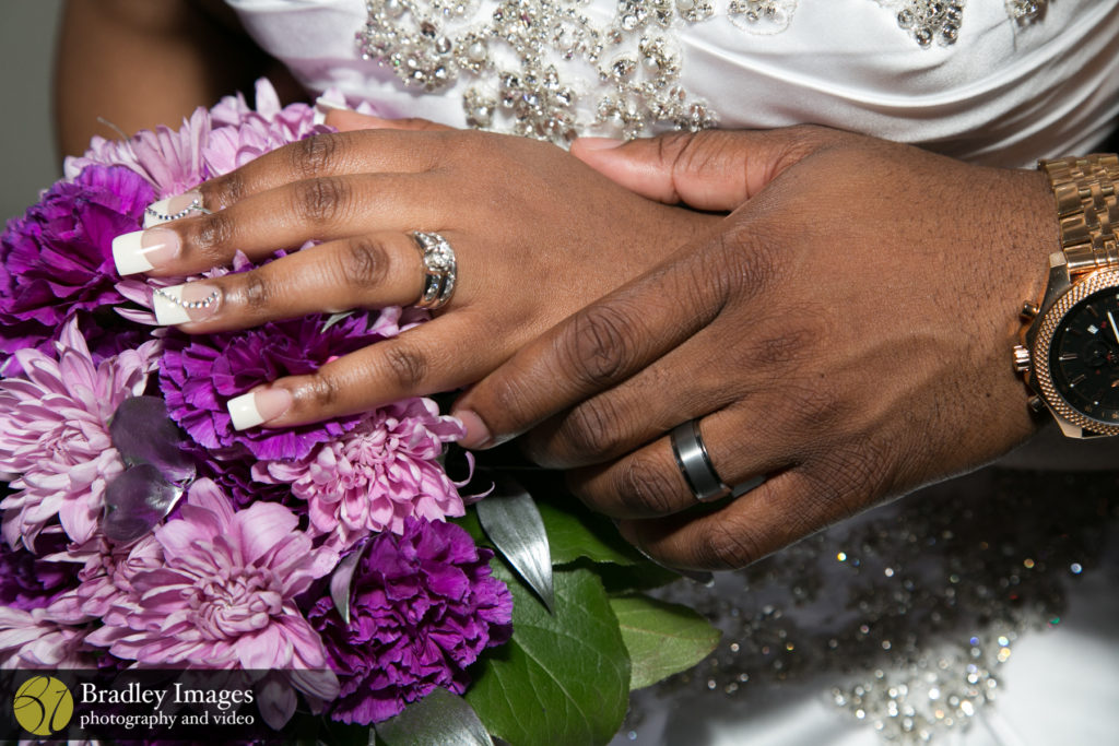 Turf Valley Country Club Bride and Groom Rings