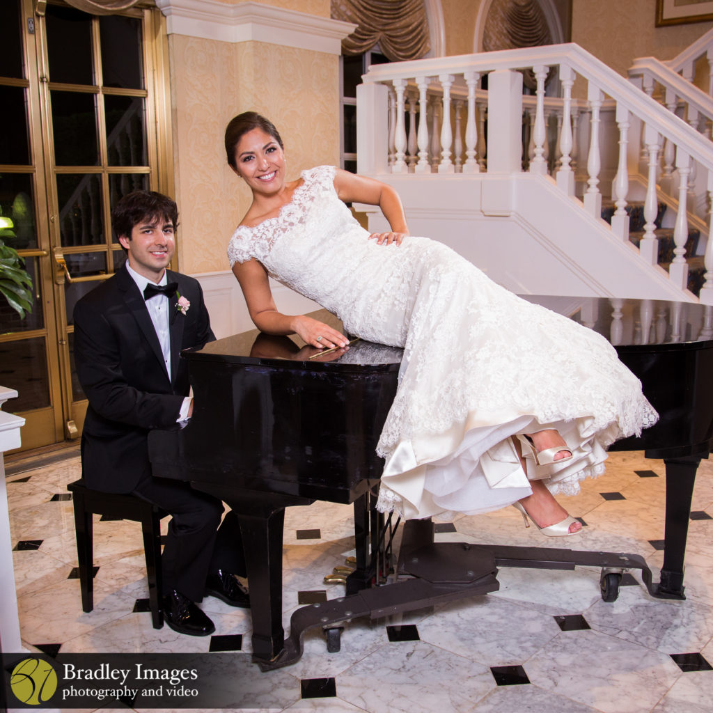 The Fairfax Bride and Groom Piano