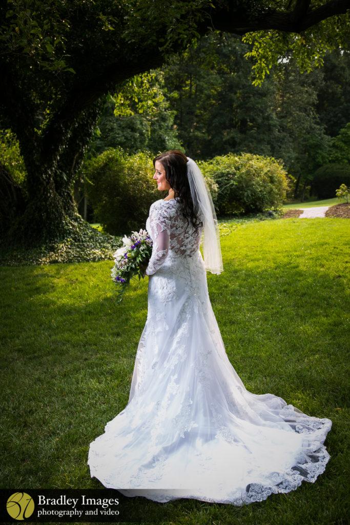 Antrim 1844 Bride Dress Bouquet