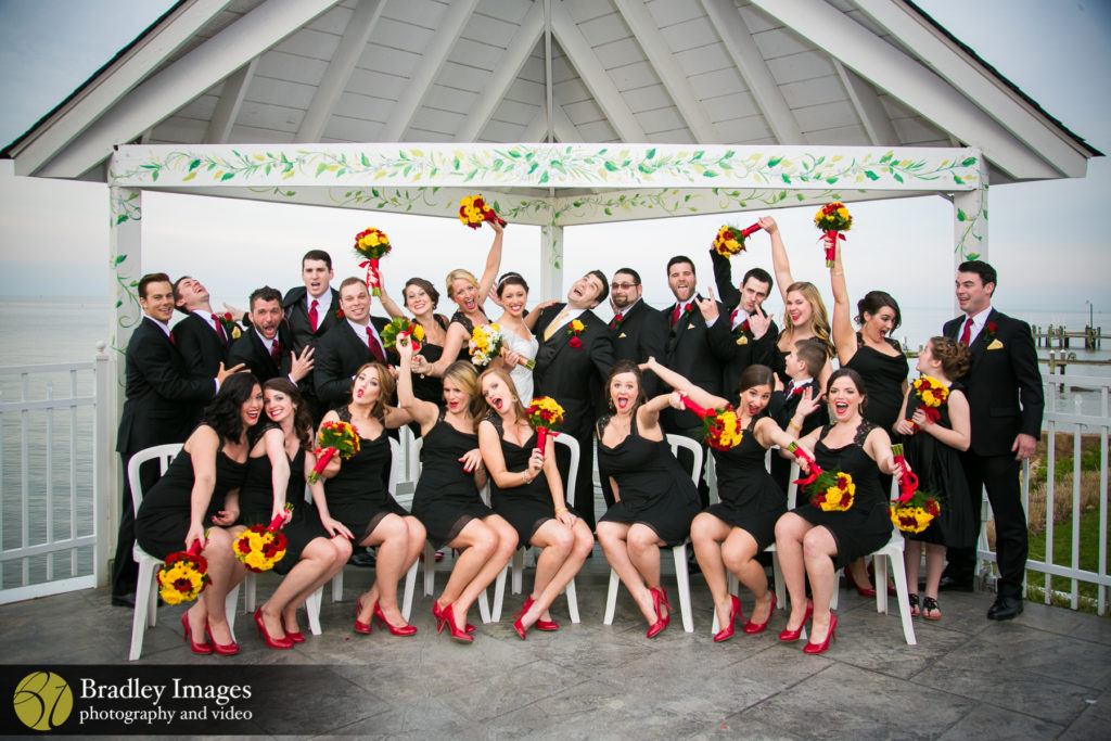 Kurtz's Beach Bridal Party
