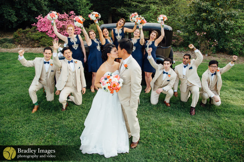 The River Farm Horticultural Society Bridal Party