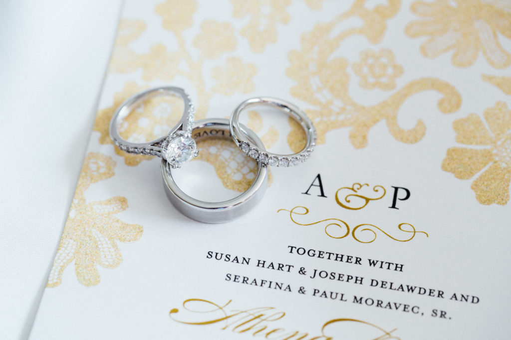 Rings Wedding Invitations