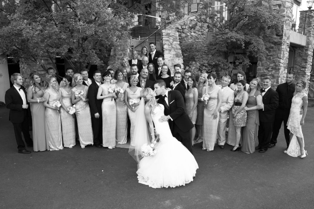 Mountain Branch Country Club Bridal Party