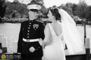 Anchor Inn Bride and Groom