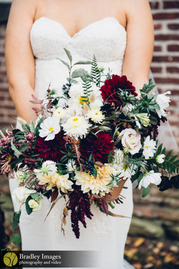 Mt Washington Mill Dye House Fall Bridal Boquet