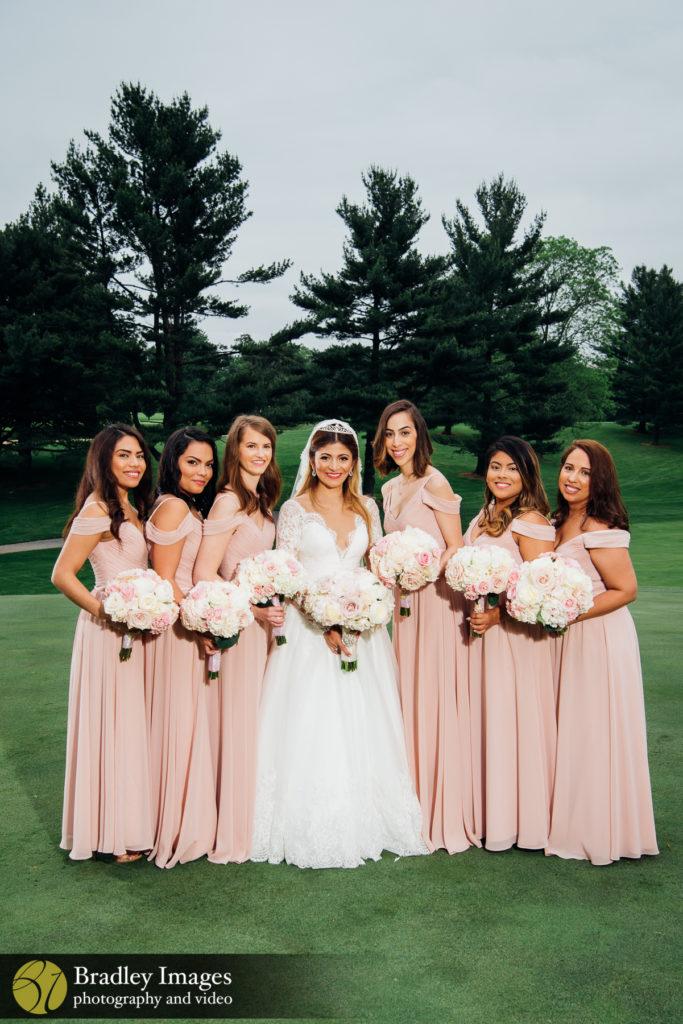 Woodholme Country Club Bridesmaids