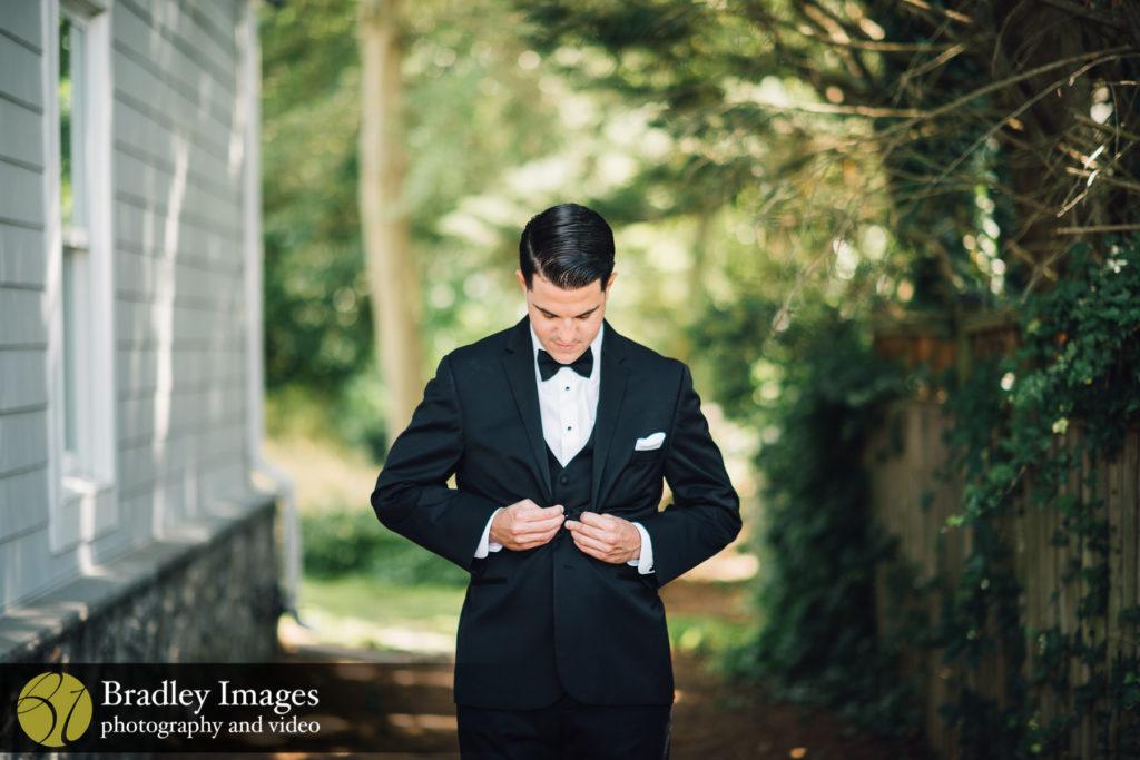 Annapolis Maryland Wedding Groom Shot