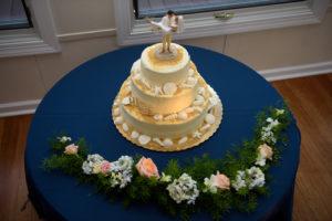 Rehoboth Beach wedding cake cake topper
