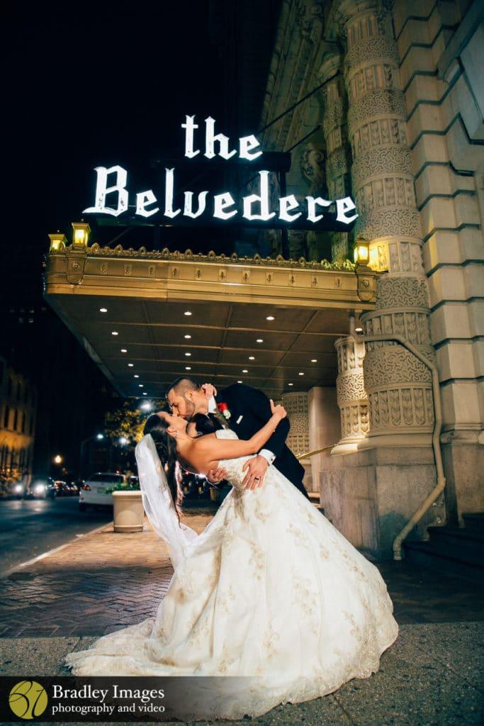 The Belvedere Baltimore Wedding The Dip