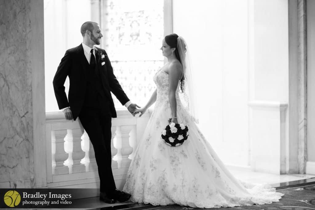 The Belvedere Baltimore Wedding Bride and Groom